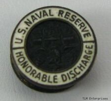 US NAVAL RESERVE - USNR Honorable Discharge CUFF BUTTON