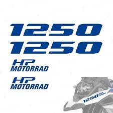 4pz Adesivi Blu compatibile con Moto R 1250 GS HP R1250 ADVENTURE R1250GS