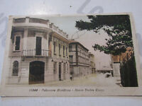 Tarjeta Postal Época Falconara Marítima Nuevo Teatro Chupetes Shipped 1935