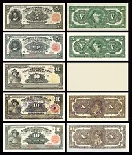BANK OF PORTO RICO COPY LOT D  (1907 - 1909) - Reproductions