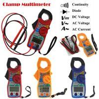 Digital Ohmmeter Multimeter Volt LCD AC DC Tester Clamp Meter Voltmeter Ammeter