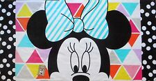Minnie Mouse California Girl Beach Towel  measures 30 x 60 inches