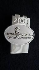 2001 Toyota Dan Marino Celebrity Invitational Golf Tournament Pro-Am Money Clip