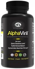 AlphaViril™ Testosterone Booster, Strength, Energy, Stamina, Performance, Muscle