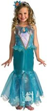Ariel Prestige Mermaid Disney Toddler Girls Costume 3T - 4T