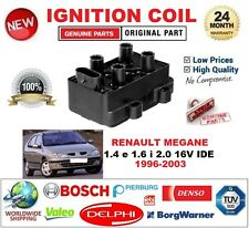 FOR RENAULT MEGANE 1.4 e 1.6 i 2.0 16V IDE 1996-2003 IGNITION COIL 4PIN OVAL M4
