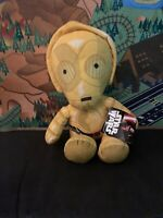 "Disney Star Wars C3PO, Plush, 12"" Soft Toy"