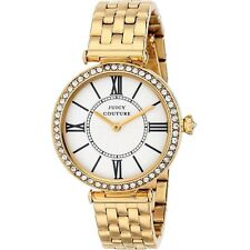 Juicy Couture Women's 1901127 J Couture Goldplated Stainless Steel Watch
