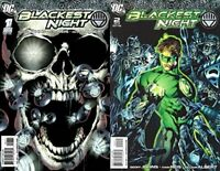 Blackest Night #1-2 (2009-2010) DC Comics - 2 Comics