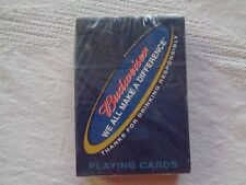 Budweiser We All Make A Difference Playing Cards
