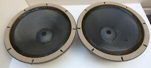 Altec Lansing 515E Woofer 16 Ohms Speakers Pair