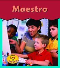Maestro (Esto es lo que quiero ser) (Spanish Edition)