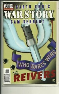 VERTIGO COMICS WAR STORY THE REIVERS! NM!