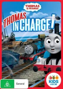 Thomas & Friends - Thomas In Charge (DVD, 2014, Region 4) ABC Kids NEW & SEALED