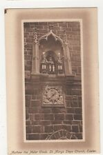 Mathew The Miller Clock, St. Marys Steps Church Exeter, J. Welch Postcard, M030