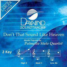 Palmetto State Quartet-Don't That Sound Like Heaven-Accompaniment/Performance