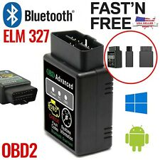 Bluetooth OBD2 Reader Code Scanner Automotive Diagnostic Tool Car OBDII ELM 327