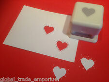 Martha stewart clous coeur paper punch all over the page paop-neuf!