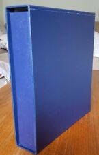 New Blue Slip case made to fit Stanley Gibbons Devon and Plymouth Albums