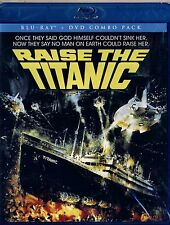 NEW BLU-RAY/DVD COMBO // RAISE THE TITANIC // CLIVE CUSSLER, JASON ROBARDS