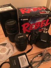 Canon EOS Rebel T5i 18.0MP SLR Camera - (w/ EF-S IS STM 18-55 + EF75-300mm Zoom)