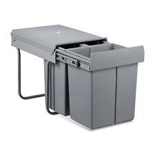 Mülltrennsystem Abfallsammler Einbaumülleimer Abfalleimer Ausziehmülleimer 40 L