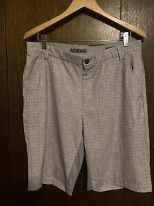 Adidas Mens Golf Shorts, Size 34