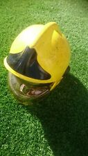MSA Gallet Fireman Firefighters Helmet - Yellow