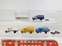 CK803-0,5# 4x Brekina H0/1:87 Lieferwagen Opel Blitz: 35305+Union Bier etc, NEUW