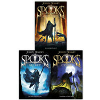 The Spooks 3 Book Set Collection By Joseph Delaney Inc Apprentice, Curse, Secret