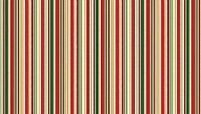 Makower: Christmas 2016 Metallic Stripe 1667/1