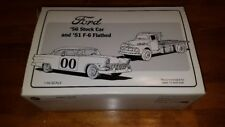 First Gear '56 Stock Car and '51 F-6 Flatbed