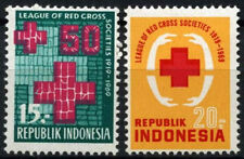 Indonesia 1968 SG#1230-1 Red Cross Societies MH Set #C143
