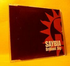MAXI PROMO Single CD Saybia Brilliant Sky 1TR 2004 Soft Indie Rock
