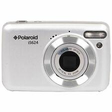 Vivitar Polaroid IS624 16MP Digital Camera with 6x Optical Zoom - Silver