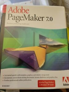 100% Genuine: Adobe PageMaker 7.0 Full Windows
