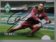 Handsignierte AK Autogrammkarte *TIM WIESE* SV Werder Bremen 11/12 2011/2012