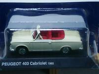 Voiture 1/43e NOREV - PEUGEOT 403 Cabriolet décapotable du Lieutenant Columbo