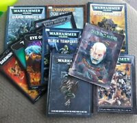 Huge Warhammer Fantasy Roleplay 12 Book Lot WFRP RARE Codex Gaming Books