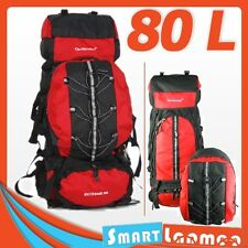 80L Backpack Outdoor Camping Hiking Rucksack Travel Bag Detachable 10L Plus Pack