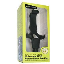 Bracketron IPM-423-BX Universal Vehicle USB Power Dock Pro Flex w MicroUSB Cable