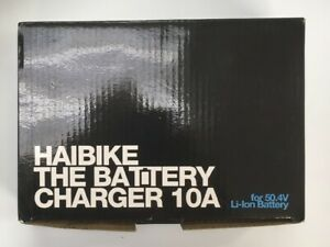 Haibike Charger 48V, 10A for XDURO Flyon models - UK plug