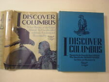 I Discover Columbus, Robert Lawson, 1st Edition, DJ, 1941
