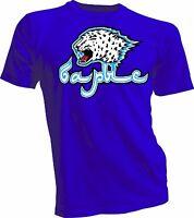 Barys Astana Kazakhstan KHL Russian Professional Hockey Blue T-Shirt handmade