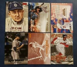 2019 Topps Stadium Club Black Red Sepia Foils and Inserts You Pick