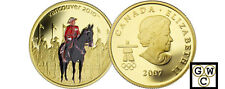 2007 Proof $75 Gold 14K - Royal Canadian Mounted Police (12075) (OOAK)