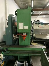 """New listing Hannifin 75 Ton Straightening Press 12"""" X 84"""" Table, 10 Hp, 9.5"""" Stroke"""