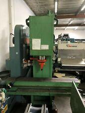 Hannifin 75 Ton Straightening Press 12 X 84 Table 10 Hp 95 Stroke