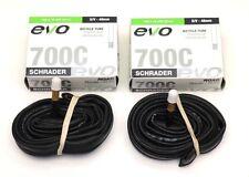 "2-Pack 700x18-25c, 27""x1"" Bicycle Inner Tube 48mm Schrader Valve Road Tube"