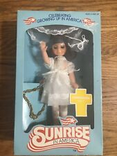 Vintage 1982 Sunrise in America Doll Communion In Box With Charm Bracelet C63